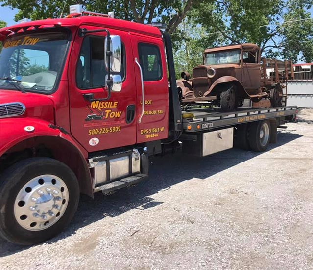 Missile Tow has been in business for 27 years and counting, we perform a wide range of towing service but focus mainly on heavy-duty towing and accident recovery. We utilize state-of-the-art equipment to make for a job done right the first time, every time.